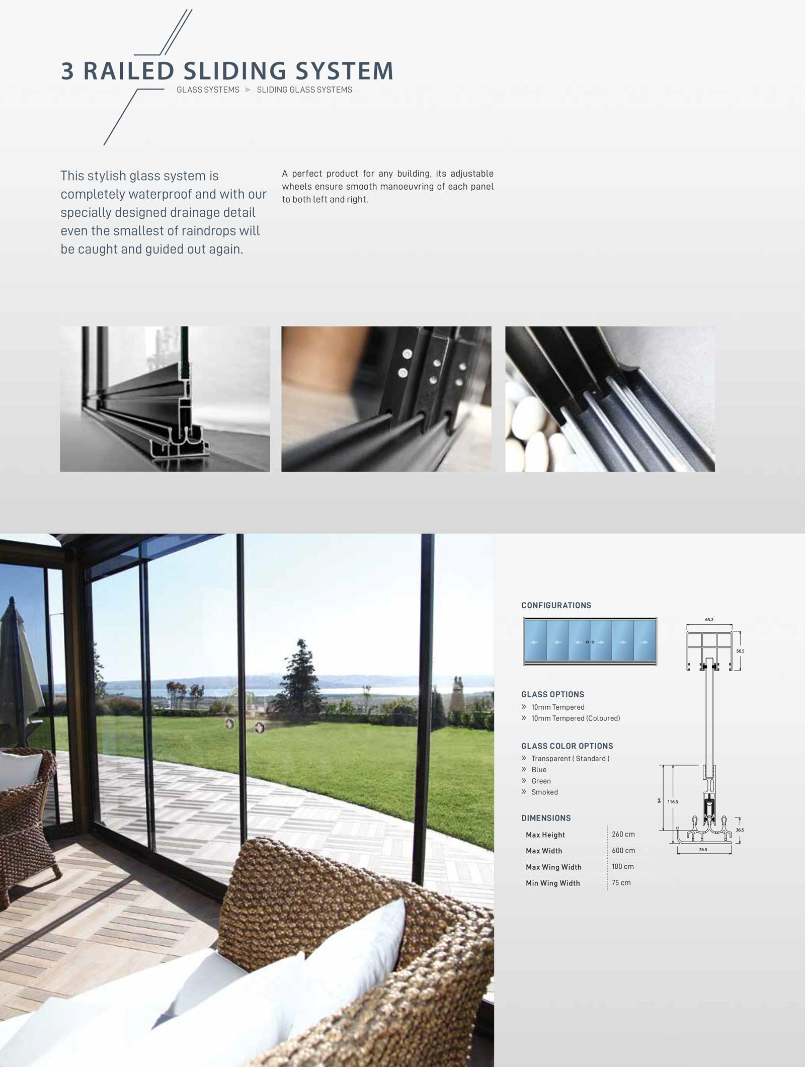 3-Rail-Glass