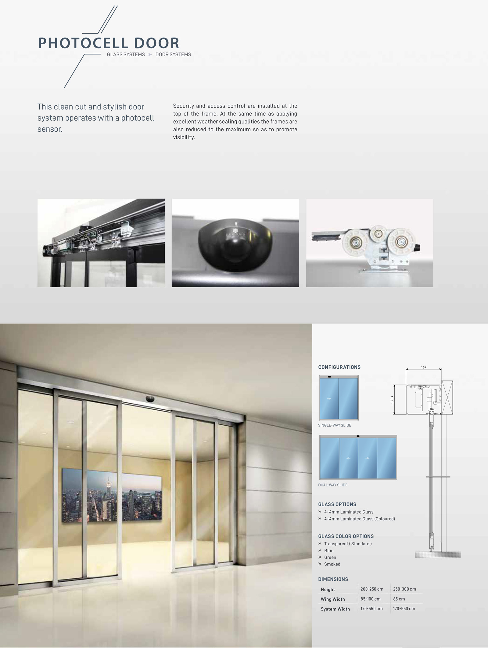Photocell-Door