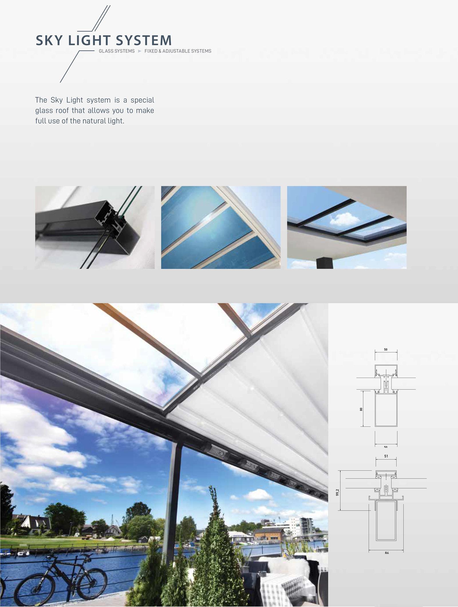 Skylight-Glass